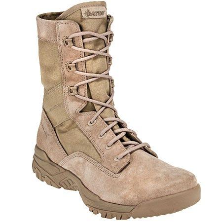 47ee2a95353 Buy $100 - Bates Boots: Men's Desert Tan Zero-Mass Military Boots ...