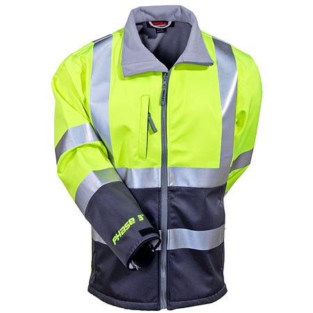 Tingley Jackets: High Visibility Waterproof Lined Jacket J25022 Sale $114.00 Item#J25022 :