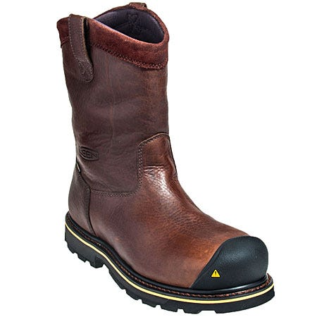 Keen Boots: Men's Dallas Wellington Steel Toe 1007043 Waterproof Boots