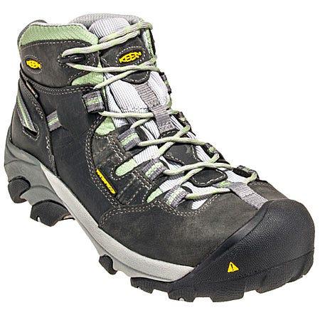 Keen Footwear Women's Waterproof Steel Toe Detroit Mid Work Boots 1007307