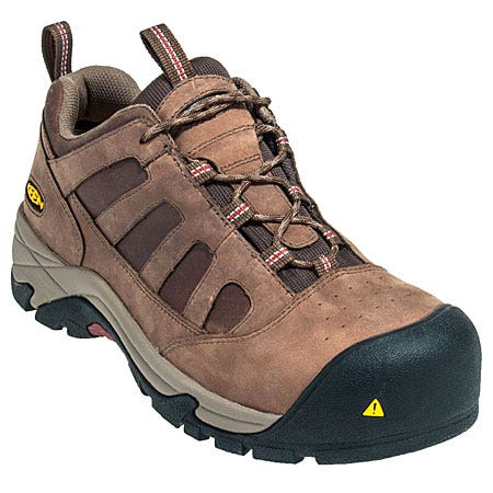 Keen Footwear: Men's 1008302 Composite Toe Brown Lexington Work Shoes