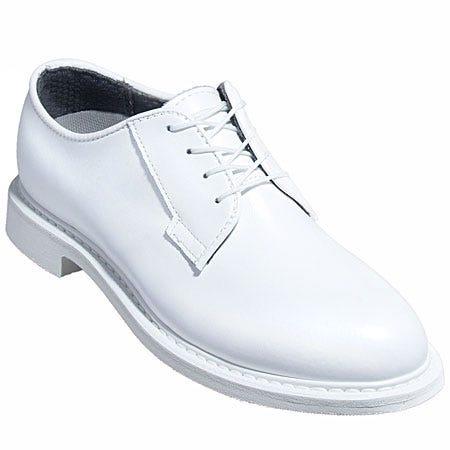 Bates Shoes: Men's White Leather Goodyear Welt Dress Shoes 131 Sale $116.00 Item#E00131 :