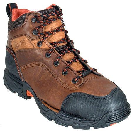 Danner Boots: Men's Brown 17602 Waterproof Safety Toe EH Corvallis Work Boots