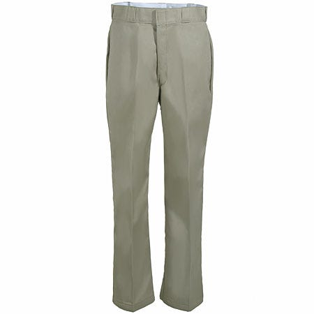 Dickies Pants: Men's Relaxed Fit Flannel-Lined Work Pants 2874 KH Khaki Sale $34.00 Item#2874KH :