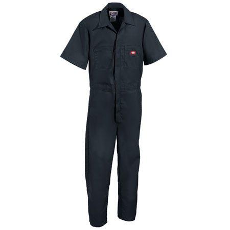 Dickies Work Clothes: Men's Lightweight Cotton Blend Coveralls 33999 BK Sale $28.00 Item#33999BK :