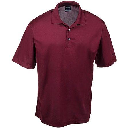 Nike golf shirts 363807 tmrd men 39 s team red dri fit micro for Nike golf polo shirts wholesale