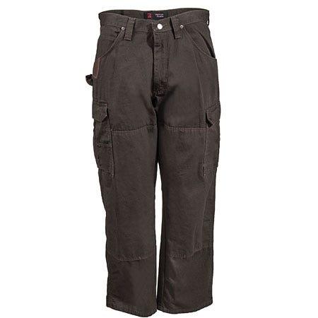 Wrangler Riggs Pants: Men's Dark Brown Cotton Ripstop Ranger Pants 3W060 DB Sale $39.00 Item#3W060DB :