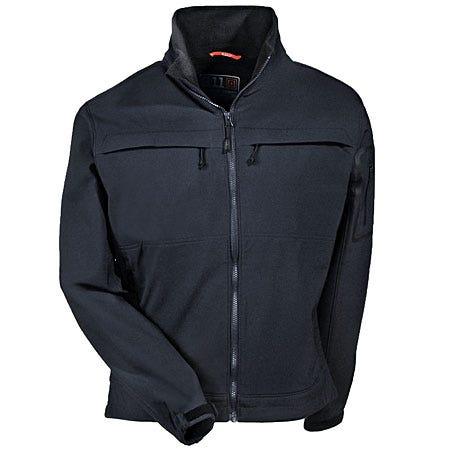 5.11 Tactical Jackets: Black Chameleon Water-Repellant Softshell Jacket 48099 019 Sale $120.00 Item#97949 :
