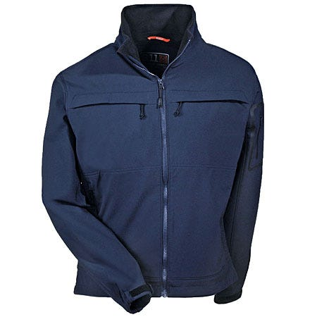 5.11 Jackets: Unisex Dark Navy Chameleon Softshell Technical Jacket 48099 724 Sale $120.00 Item#48099-724 :