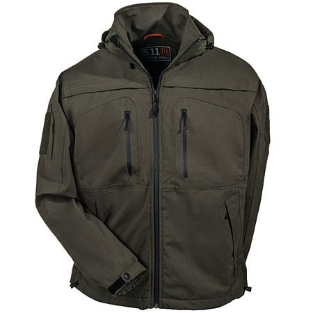 5.11 Green 48112 191 Sabre 2.0 Waterproof Tactical Jacket