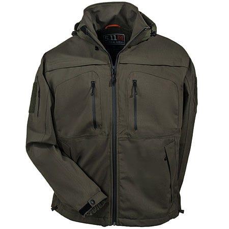 5.11 Jackets: Men's Green 48112 191 Sabre 2.0 Waterproof Tactical Jacket Sale $250.00 Item#48112-191 :
