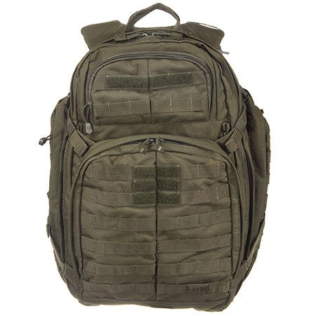 5.11 Tactical Backpacks: Rush 72 58602 188 Nylon Water Resistant Backpack Sale $170.00 Item#58602-188 :
