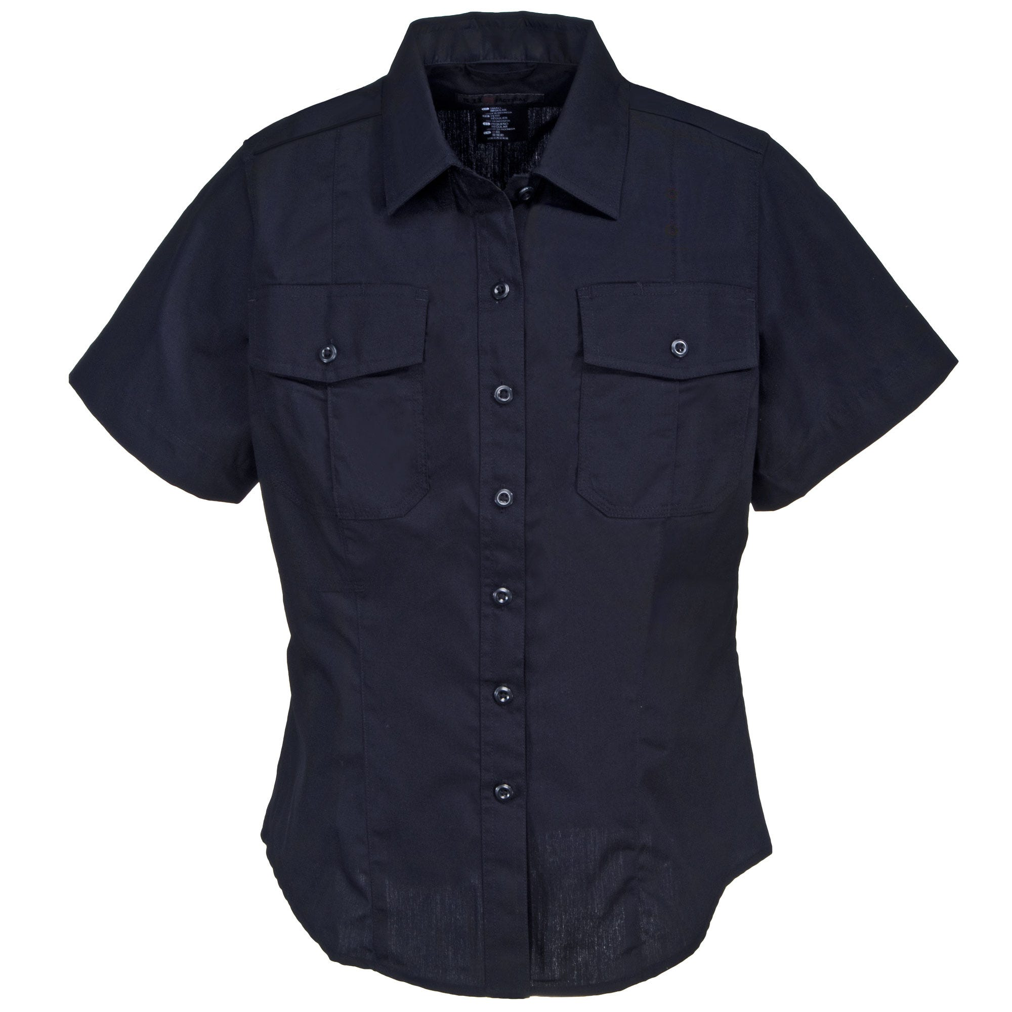 5.11 Tactical Women's 61016 750 Midnight Navy PDU Class A Short Sleeve Stryke Shirt