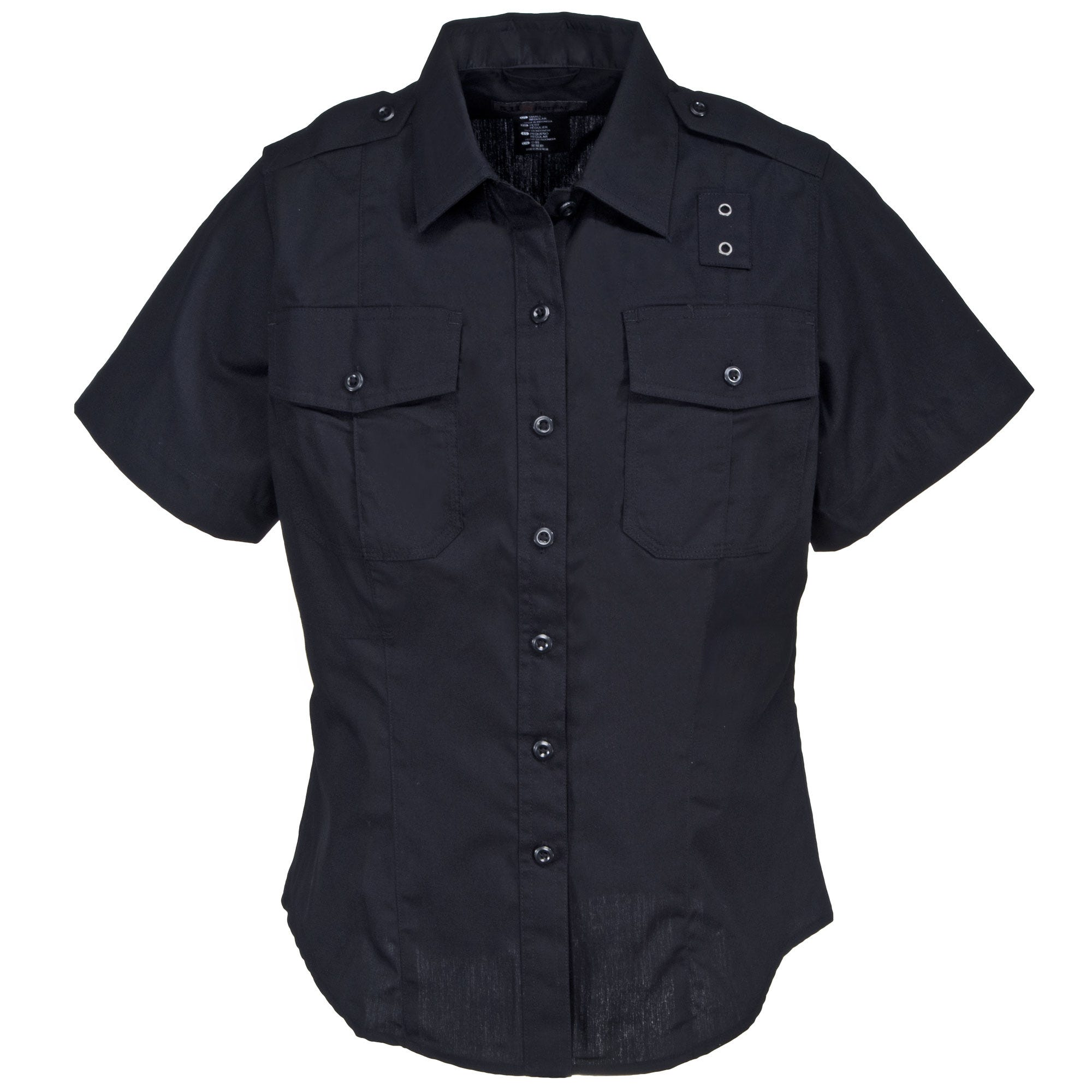 5.11 Tactical Women's Twill 61158 750 Midnight Navy Short Sleeve Shirt