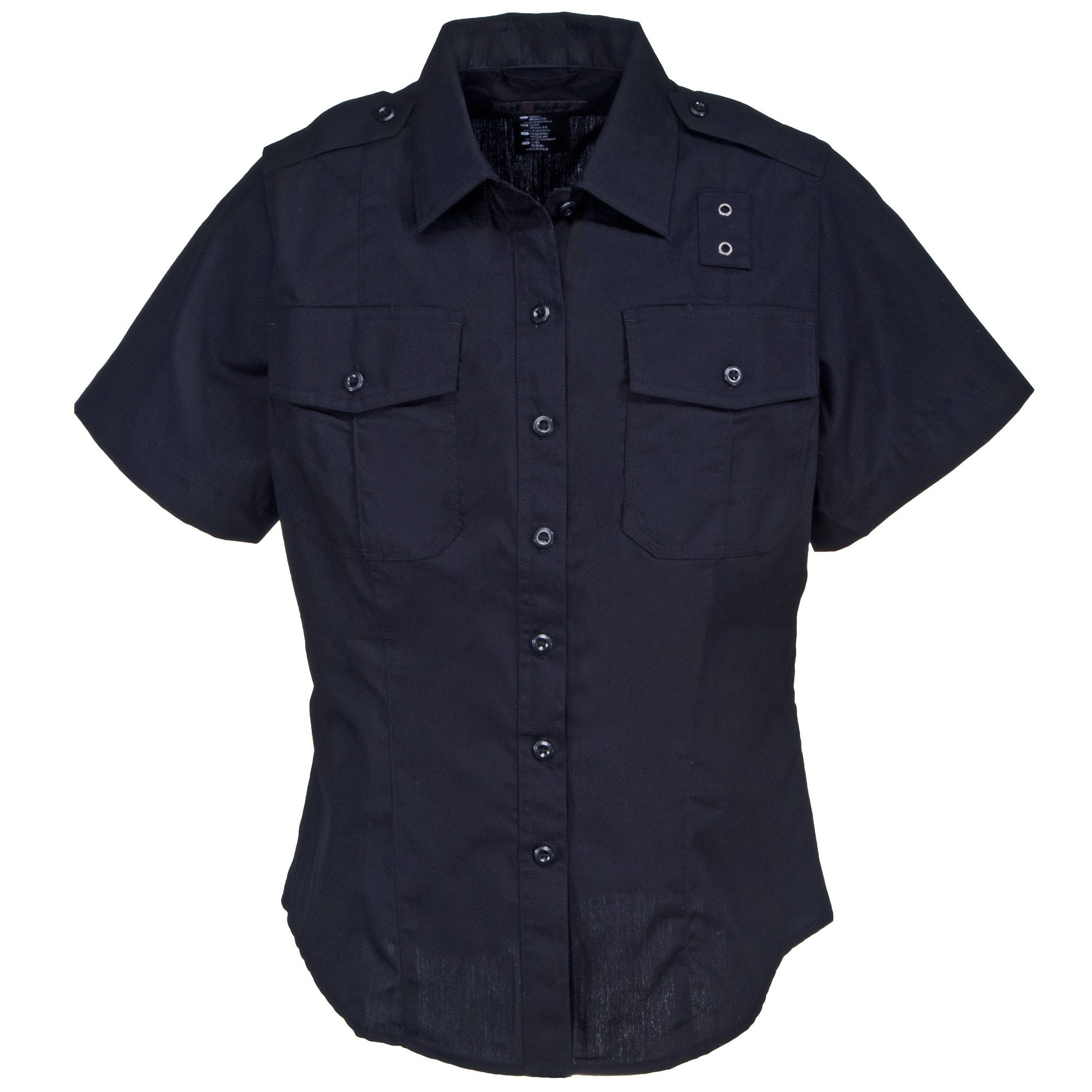 5.11 Tactical Women's 61167 750 Navy Ripstop Short Sleeve Shirt