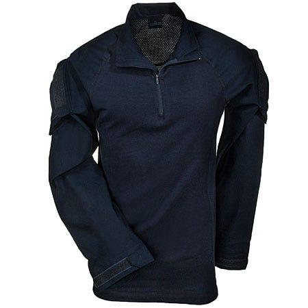 5.11 Shirts: Men's Navy Blue 72194 724 Rapid Assault Knit Tactical Shirt Sale $60.00 Item#72194-724 :