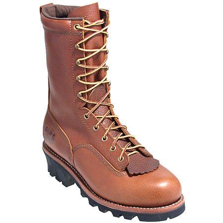 Gear Box Boots: Men's Vibram Sole Logger Boots 8089