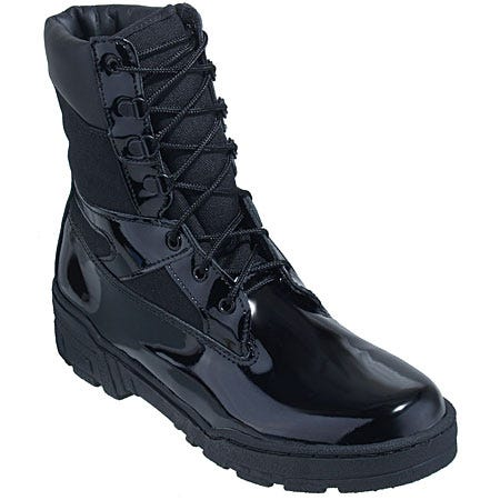 Thorogood Boots: Men's 831-6823 Black USA-Made Slip-Resistant Work Boots