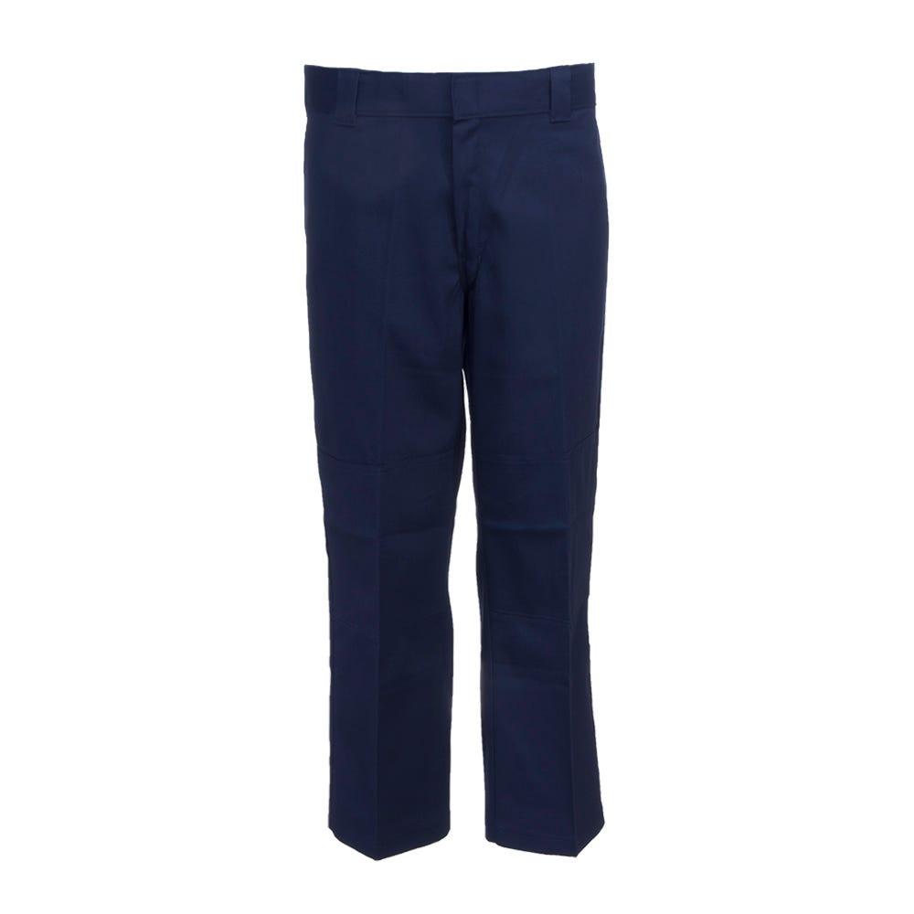 Dickies Dark Navy 85283 FDN Double Knee Flex Straight Leg Work Pants