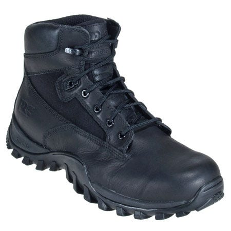 Timberland Pro Boots: Men's Black Waterproof Tactical Boots 85521