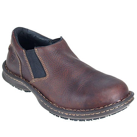 Timberland PRO Shoes: Men's Gladstone 86509 ESD Slip On Steel Toe Shoes