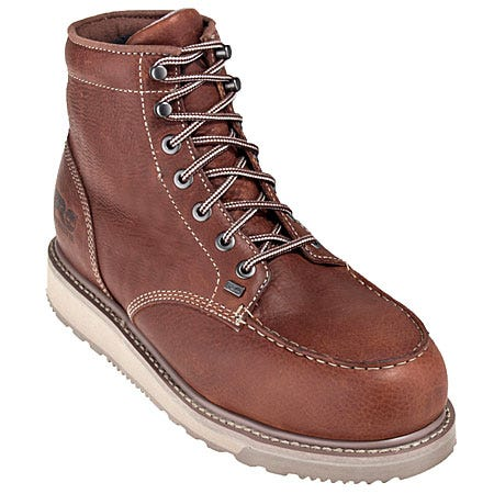 Timberland PRO Boots: Men's 88559 Barstow EH Alloy Toe Wedge Boots