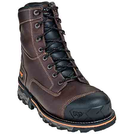 Timberland PRO Boots: Men's 89635 Boondock EH Insulated Waterproof Boots