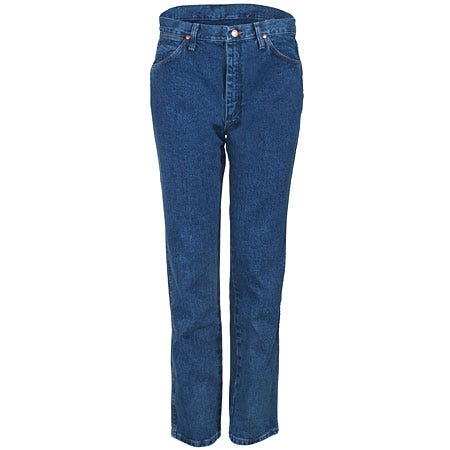 Wrangler Jeans: Men's Cowboy Cut Slim Fit Denim Jeans 0936 GBK Sale $36.00 Item#0936GBK :