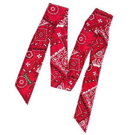 Occunomix Bandanas Safety Equipment & Protective Gear 940 CRD Red Miracool Cooling Neck Bandana