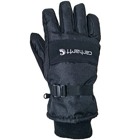 Carhartt Gloves: Men's Black Waterproof Insulated Work Gloves A511 BLK Sale $22.00 Item#A511-BLK :