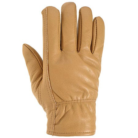 Carhartt Gloves: Men's Insulated Brown Leather Driving Gloves A552 BRN Sale $32.00 Item#A552BRN :