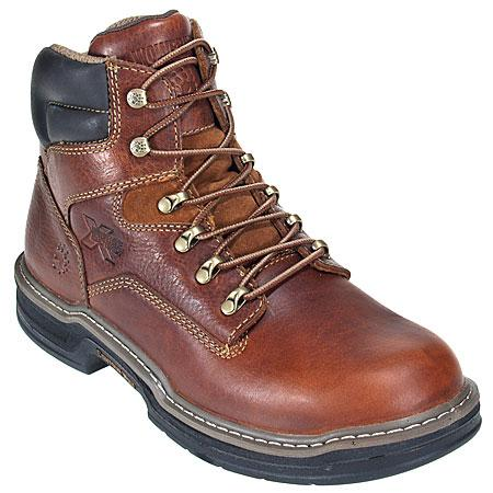 Wolverine Boots Men's 2421 Brown Multishox Raider Contour Welt Work Boots
