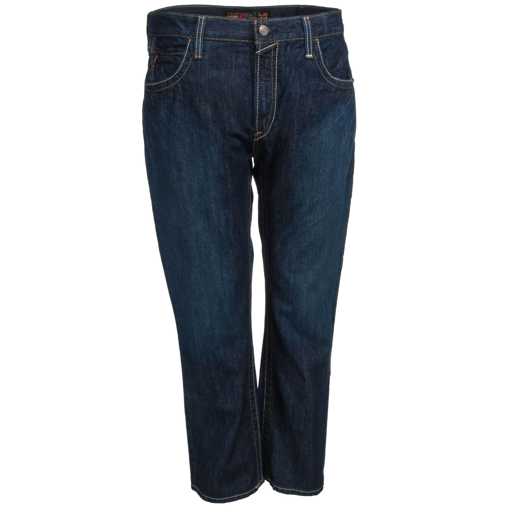 Ariat Jeans: Men's 10015166 Flame-Resistant M5 Slim Straight Leg Clay Work Jeans