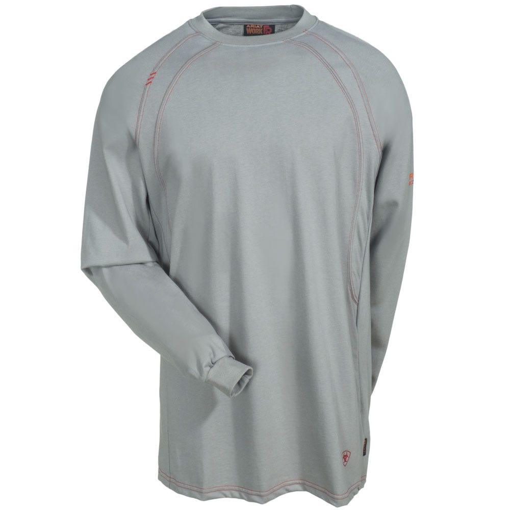 f54e784a7ee Ariat Shirts  Men s 10012258 Flame-Resistant Long-Sleeve Silver Fox ...