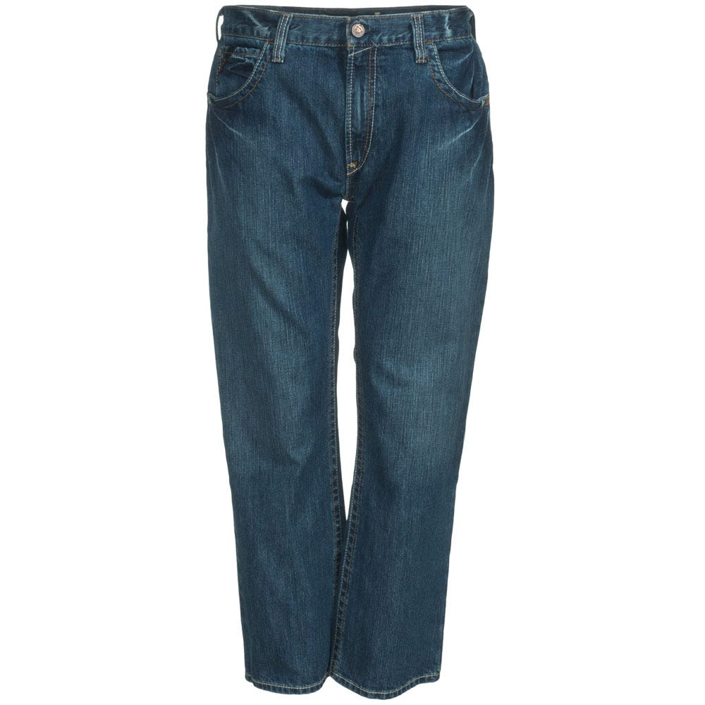 Ariat Jeans: Men's 10015160 Flame-Resistant Slim Straight Leg Clay Work Jeans