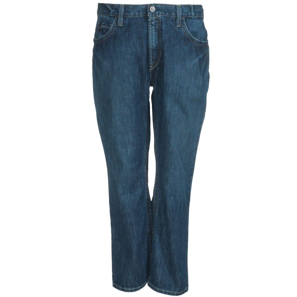 Ariat Jeans: Men's 10012552 Flame-Resistant Boot Cut Flint M4 Low Rise Jeans