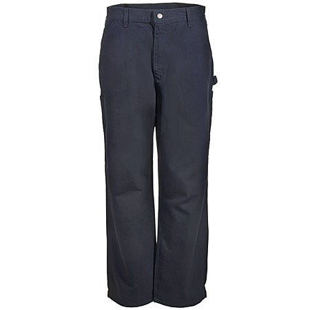 Carhartt Pants: Men's B11 BLK Black Cotton Duck Dungaree Pants