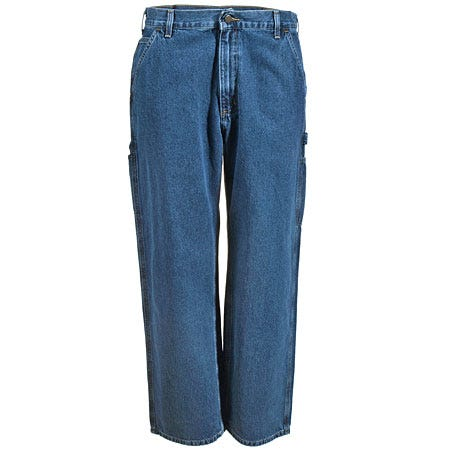 Carhartt Jeans: Men's B13 DPS Deepstone Denim Work Dungaree Jeans