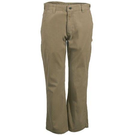 Carhartt Pants: Men's B324 DKH Dark Khaki Relaxed Fit Cotton Pants