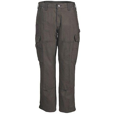 Carhartt Pants: Men's Brown Ripstop Cotton Work Pants B342 DFE