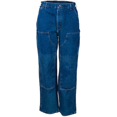 Carhartt Jeans: Men's B73 DST Double Front Logger Dungaree Jeans