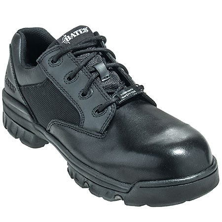Bates Boots Men's Black 2165 Tactical Sport Composite Toe EH Oxford Work Shoes