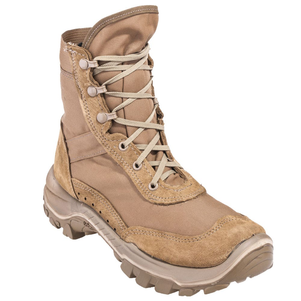 9319fdae7d0 Bates Boots: Men's 1497 USA-Made Water-Resistant Tan 7-Inch Recondo ...