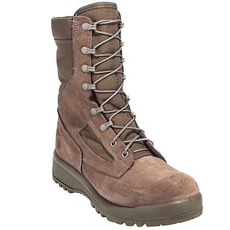 Belleville Boots: Men's 590 USMC Hot Weather Vibram Sole Combat Boots