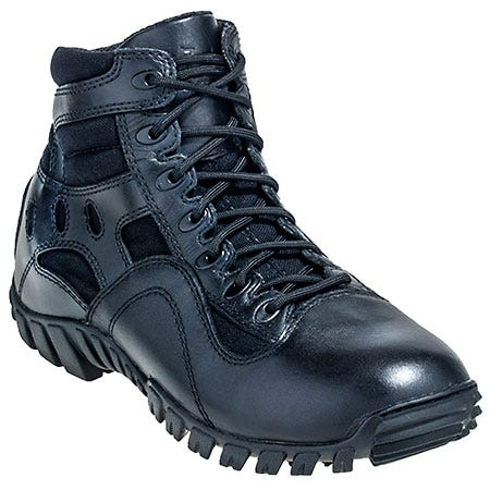 Belleville Boots Men's Hot Weather TR966 Black Lightweight Tactical Boots