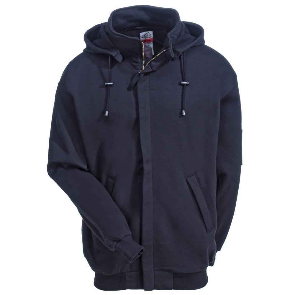 400eaf38d49 Black Stallion Sweatshirts: Men's JF1331 BK Black Flame-Resistant ...