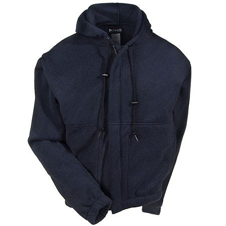 Bulwark Sweatshirts: Men's Blue SMH6 NV Flame-Resistant Nomex Sweatshirt