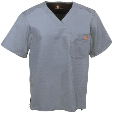 Carhartt Men's Ripstop Cotton Utility Scrub Top Shirt C15108 PEW