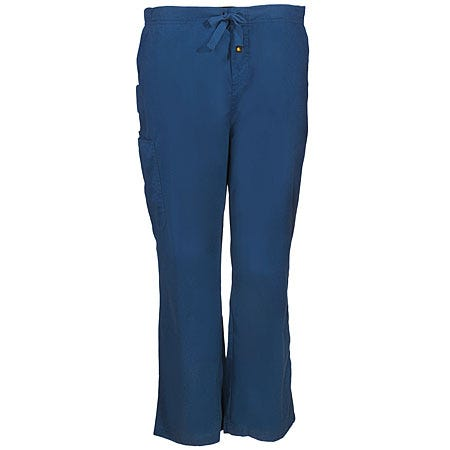 Carhartt Men's Navy Blue Cargo Cotton Blend Scrub Pants C50101 NVY