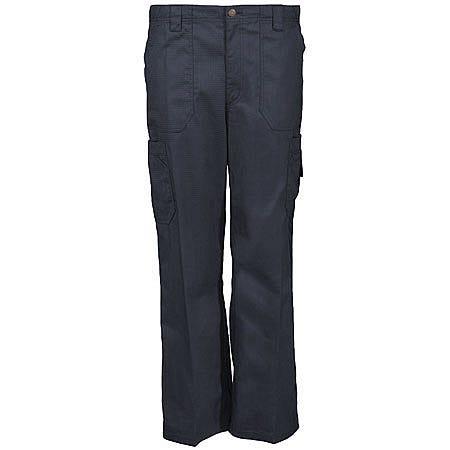 Carhartt Scrub Pants: Men's Cotton Blend Ripstop Cargo Scrub Pants C54108 BLK